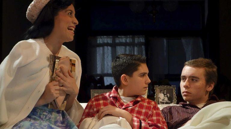 Marquez Catherine Stewart stars with Michael Ruggiero, center,