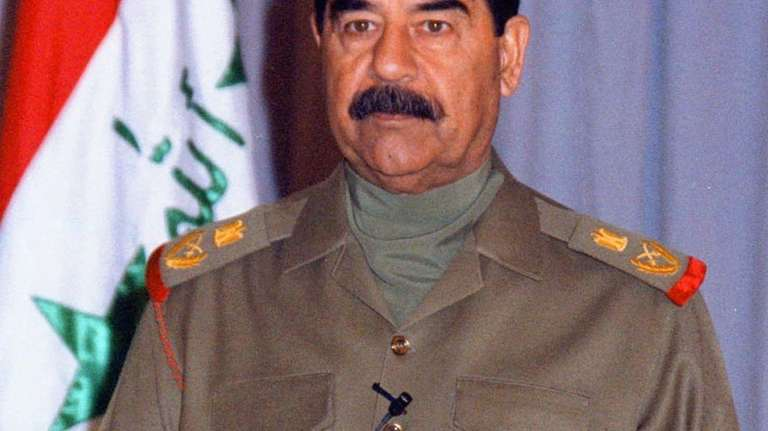 Former Iraqi dictator Saddam Hussein allegedly tried to