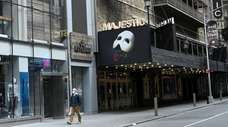 """The Majestic Theatre, home of """"The Phantom of"""