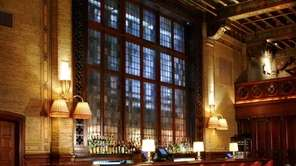 The Campbell Apartment bar in Grand Central Terminal