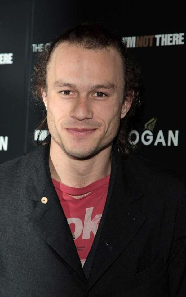 Actor Heath Ledger attends the New York premiere