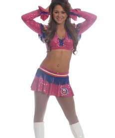 New York Islanders Ice Girl Christina, 19, of