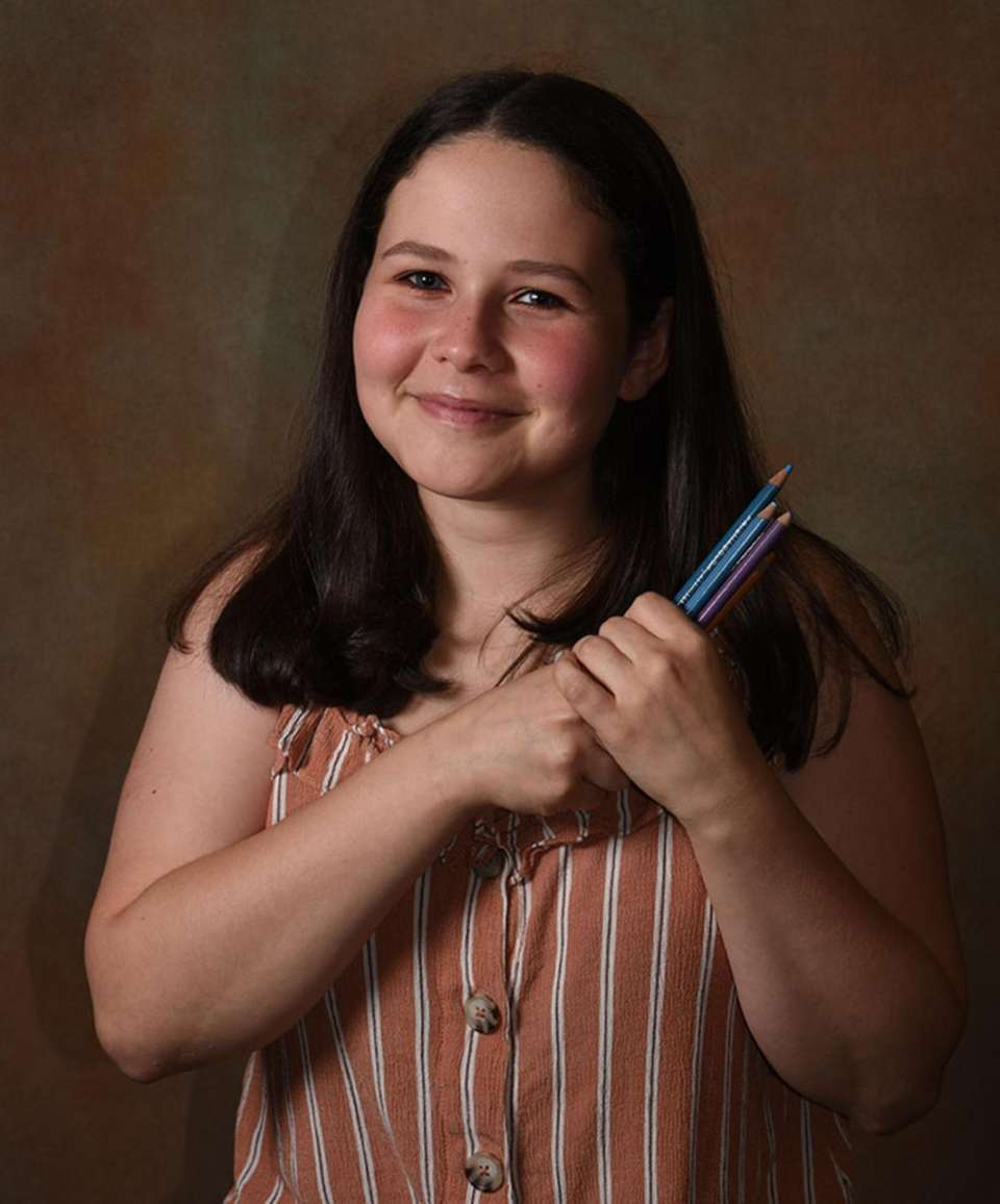 Plainview Old Bethpage High School's Elizabeth Korn sees