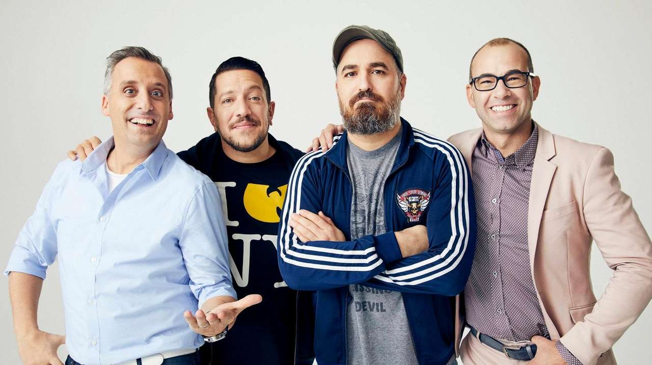 Impractical Jokers Cook Up Tv Dinner Party Newsday From the show, we can see he likes to eat a lot since the other. impractical jokers cook up tv dinner