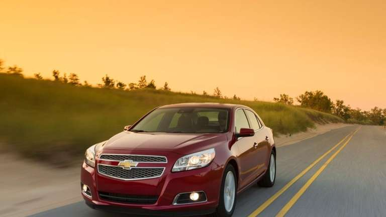 The 2013 Chevrolet Malibu could get a quick