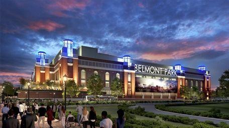 New renderings of Islanders' Belmont arena.