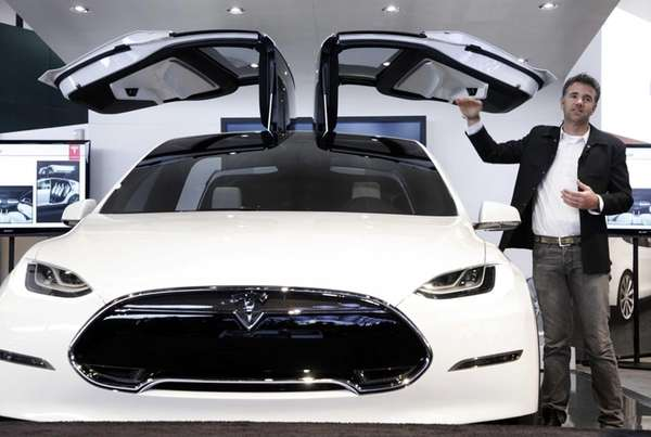 Tesla Motors' chief designer, Franz von Holzhausen, talks