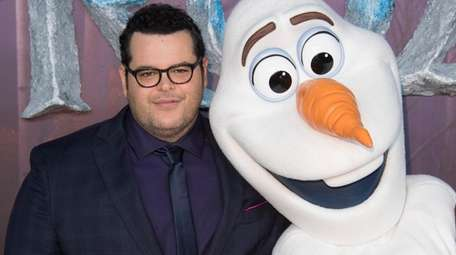 Josh Gad recorded a new song as his