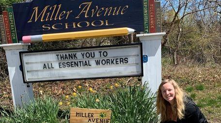 In Shoreham, Miller Avenue Elementary School students created