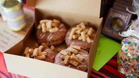 Cinnamon churro doughnuts, Torte Pie Co., Port Jefferson,