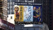 "Of Disney's three Broadway shows, ""Frozen"" will not"