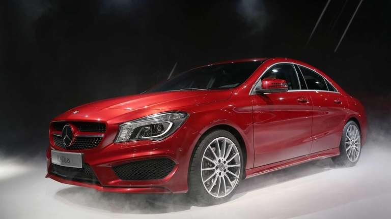 Mercedes-Benz introduces the 2014 CLA at the North