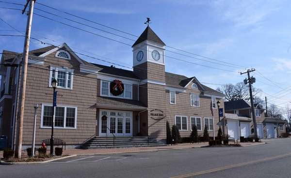 The exterior of East Williston Village Hall is