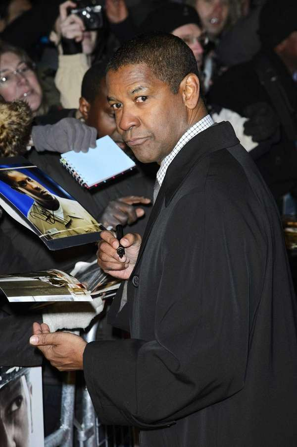 Denzel Washington, Mount Vernon: Denzel Washington attends the