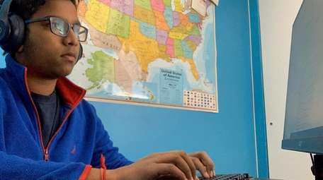 Davesh Valagolam, 16,  collaborated while in quarantine
