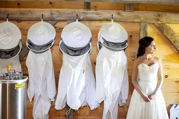 Beekeeping outfits create a buzz at Salt Air