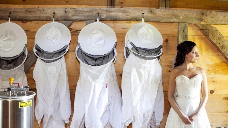 Beekeeping outfits create a buzz at Salt Air