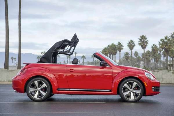 The new VW convertible melds the endearing and
