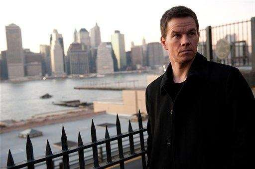 "Mark Wahlberg in a scene from ""Broken City."""
