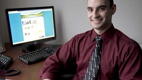 Anthony Saladino at the office of Corbett Public