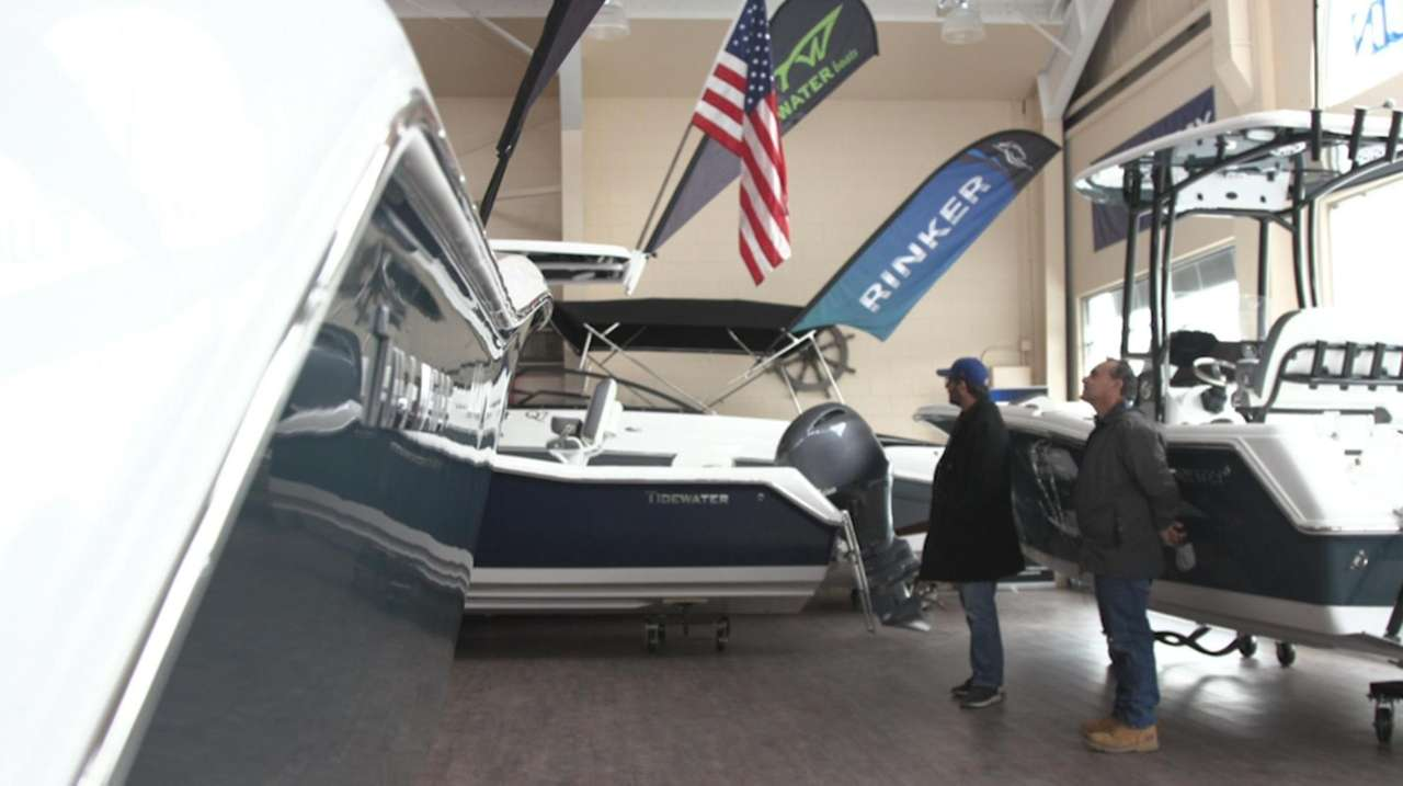 Angelo Costanza, of Blue Marlin Boats in Seaford,