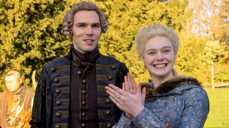 Nicholas Hoult as Peter the Great and Ellen