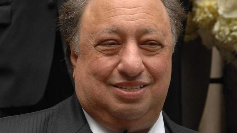 John Catsimatidis attends the wedding of Andrea Catsimatidis
