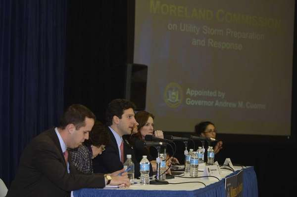 The Moreland Commission, tasked by Governor Andrew Cuomo
