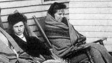 Mary Mallon, left, better known as Typhoid Mary,