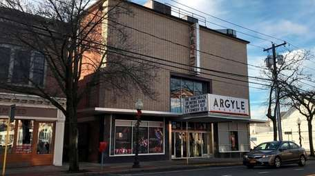 The Argyle Theatre on Main Street in Babylon