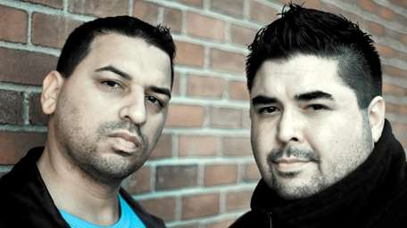 """DJs Peter """"Razor"""" Osback and Guido Osorio, who"""
