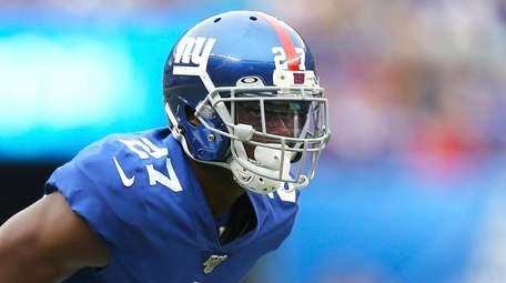 Giants cornerback DeAndre Baker on Sunday, Oct 6,
