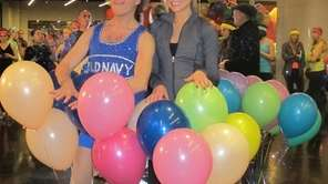 Fitness personality Richard Simmons and actress Katrina Bowden