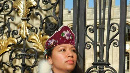 Kelsey Leonard, the first American Indian female graduate