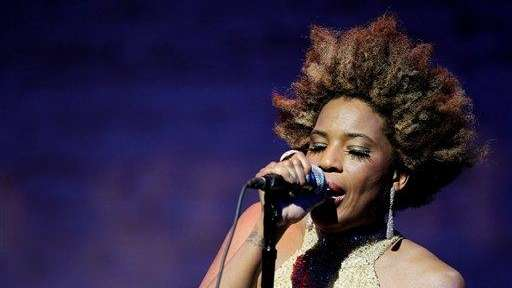 Macy Gray performs at The Jazz Foundation of