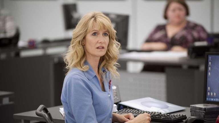 Laura Dern performs a scene in the HBO