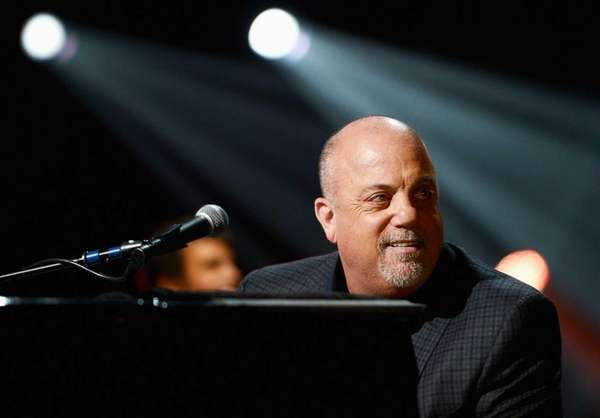 Billy Joel performs at quot;12-12-12quot; a concert benefiting