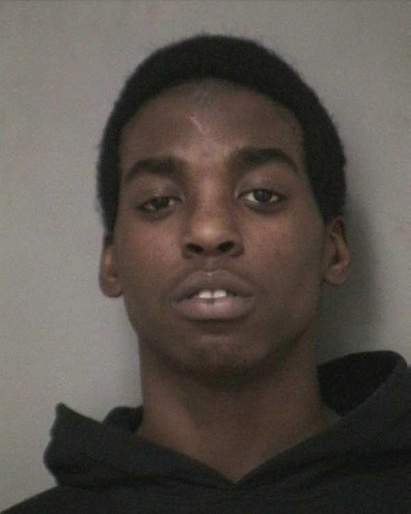 Courtney Cross, 17, was arrested on five counts