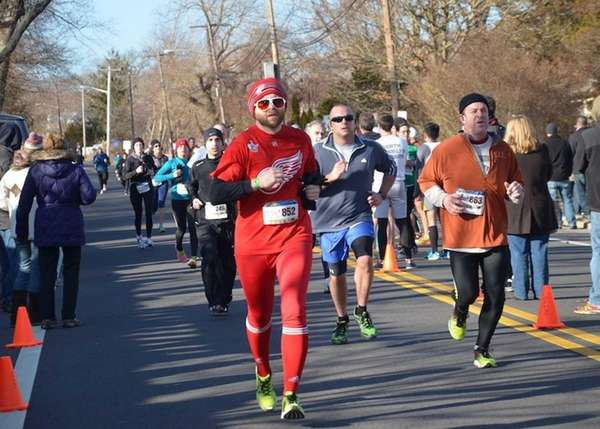About 1,200 runners participated in the third annual