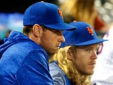 Steven Matz and Noah Syndergaard of the Mets