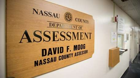 The Nassau County Department of Assessment in Mineola.