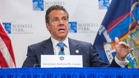 Gov. Andrew M. Cuomo holds his daily COVID-19