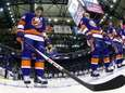 John Tavares of the New York Islanders stands