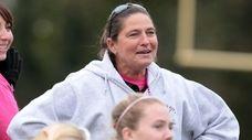 Garden City field hockey coach Diane Chapman won