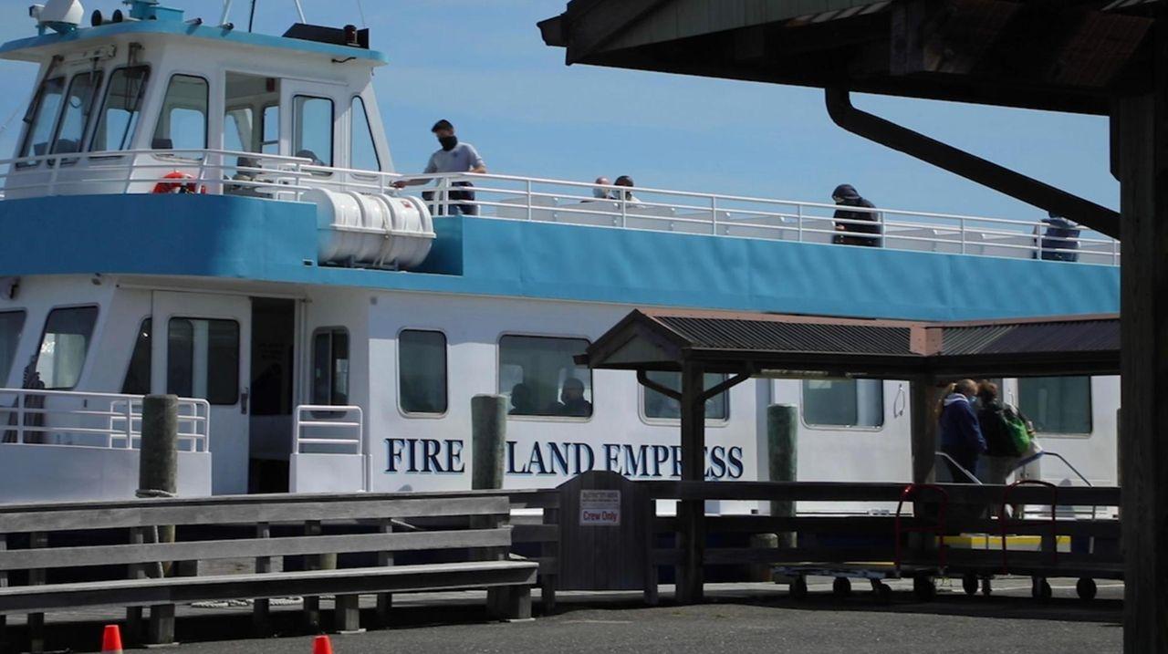 Ken Stein, president of Sayville Ferry Service, says