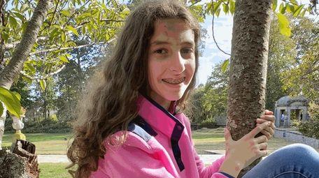 Virginia Graziosi, an eighth-grader at Robert M. Finley