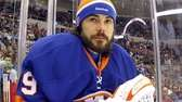 Rick DiPietro of the New York Islanders looks