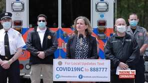 Nassau County Executive Laura Curran on Tuesday talked
