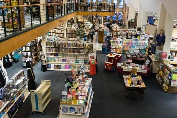 The Book Revue, located at 313 New York