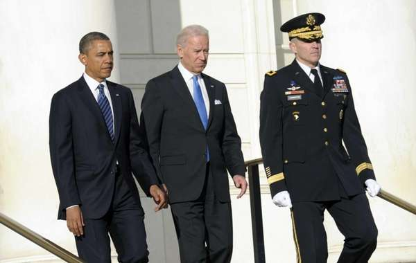 President Barack Obama and Vice President Joe Biden,